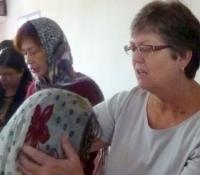 Carolyn Praying for Graduates