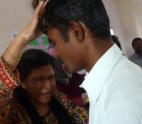Jane Praying for Graduates