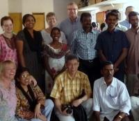 Team with Bible School Graduates